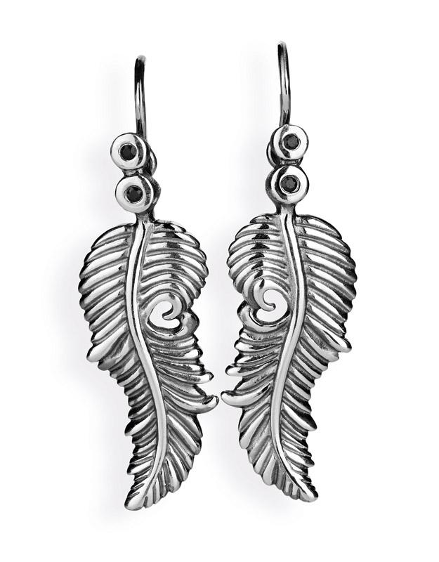 La Luna oder angels dream - Flügelohrhänger