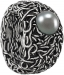 schmuckwerk - Ring Medusa mit Tahitiperle