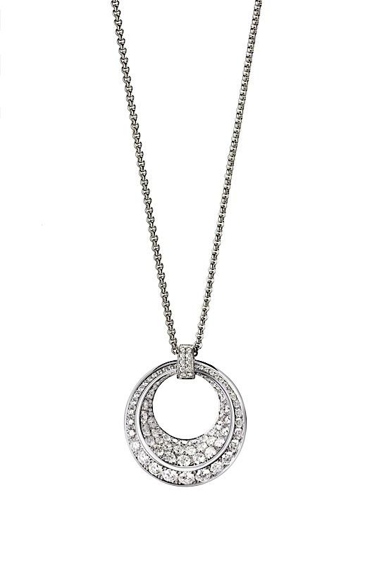 Chopard: Halsschmuck Imperiale in Weißgold 750 mit Diamanten