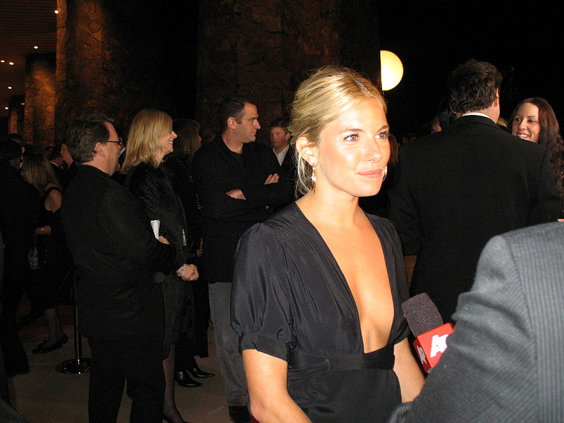 Sienna Miller auf dem Palm Springs International Film Festival 2007