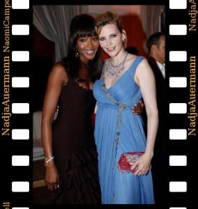 deGrisogono Cannes 2011 Nadja Auermann Naomi Campbell