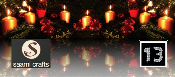 Titelbild - Adventskalender2011 - 13 - Saami Crafts