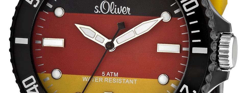 EM-Uhr von s.Oliver