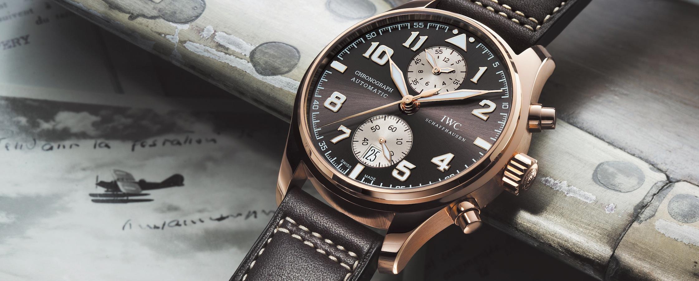 IWC Fliegeruhr Chronograph Edition Antoine de Saint-Exupéry
