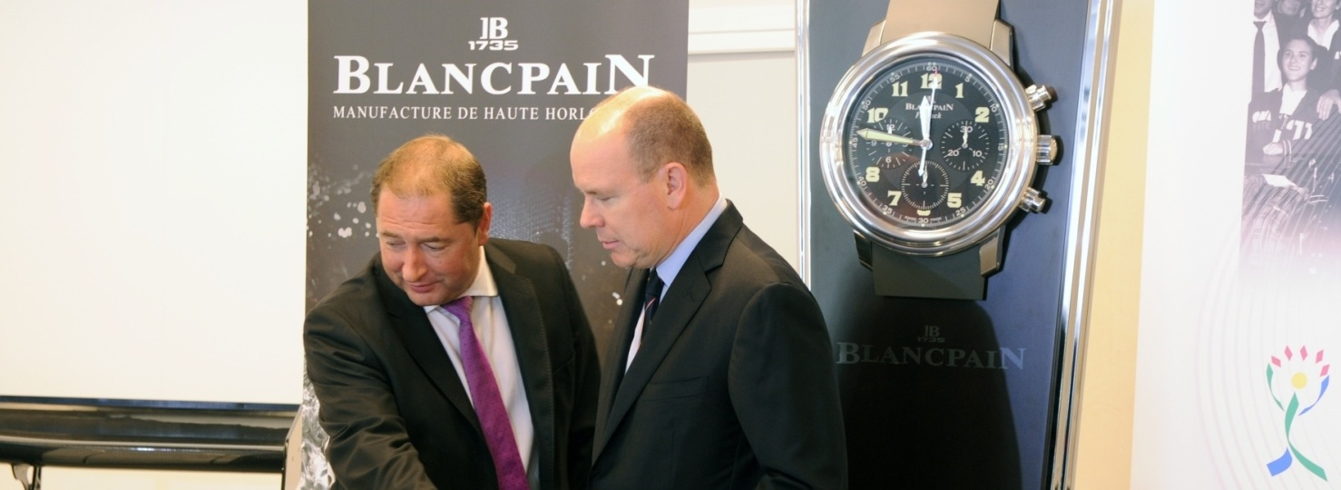 Blancpain AMM-Charity Auktion in Monaco