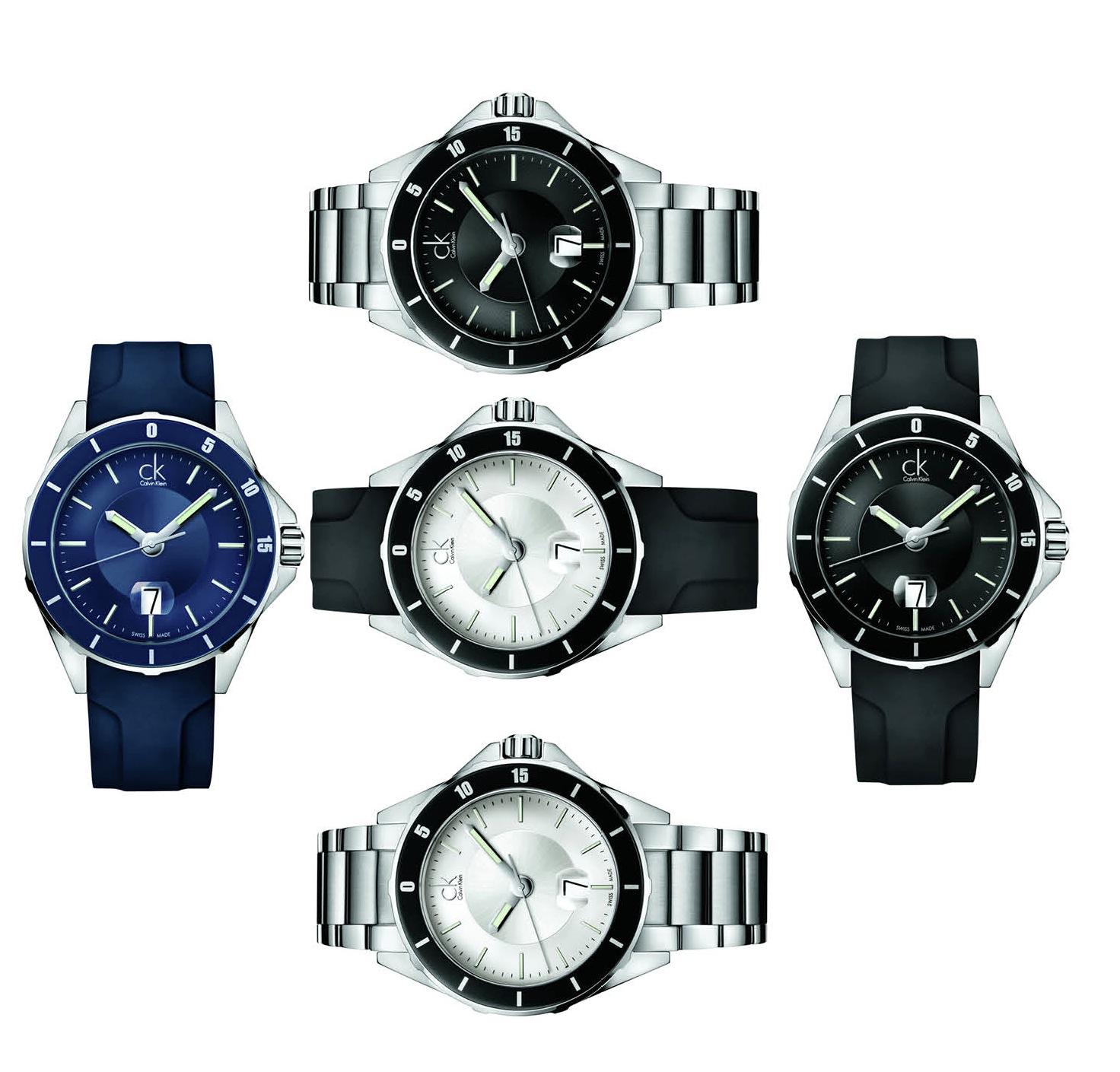 In fünf Varianten ist die Play von CK Watches erhältlich