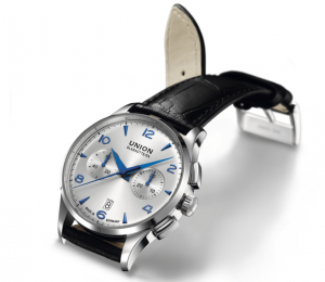 Eleganter Retro-Look: Noramis Chronograph (2540 Euro)