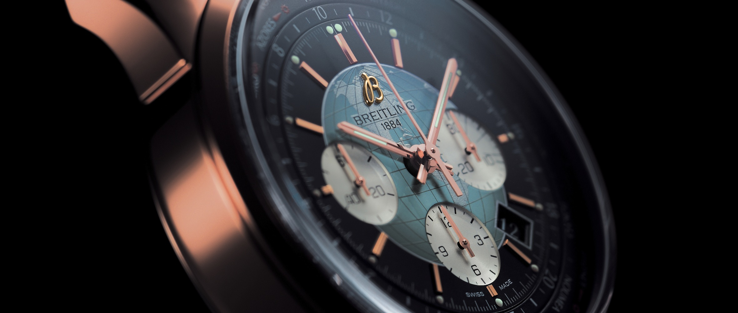 Breitling Transocean Chronograph Unitime Aufmacher