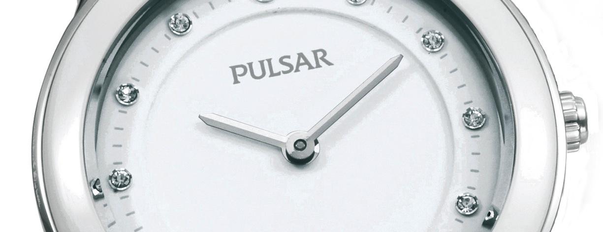 Pulsar Schwarz-Weiß