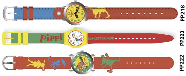Titelbild - Pipi Langstrumpf Uhren