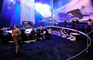 Das Standdesign von IWC macht klar, dass es diesem Jahr um maritime Themen geht