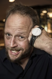 Fantastische Vier-Sänger Smudo mit Navitimer von Breitling