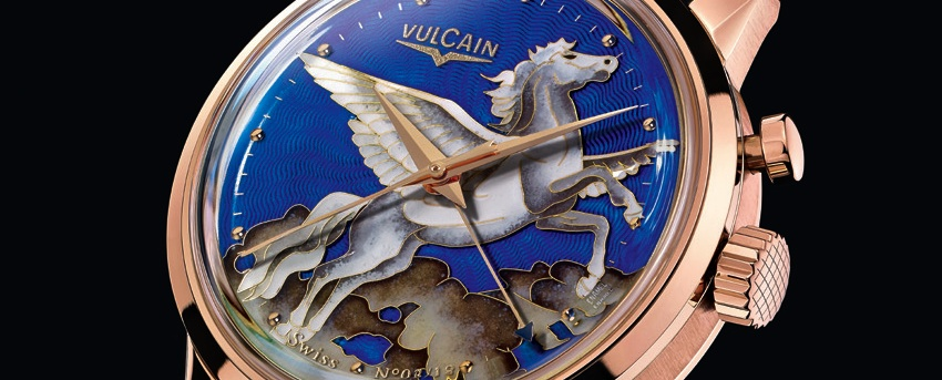 "Vulcain 50's Presidents' Cricket ""Pegasus"""