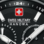 Swiss Militar Hanowa Flagship Chrono IP Black