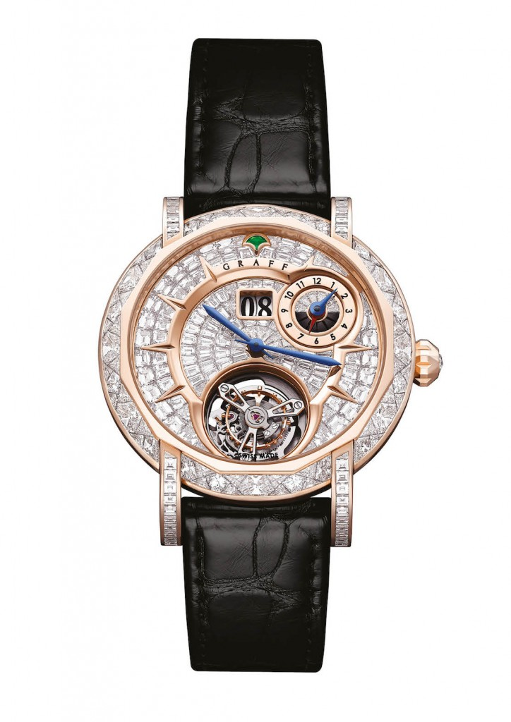 Graff: Diamond MasterGraff Grand Date Dual Time Tourbillon