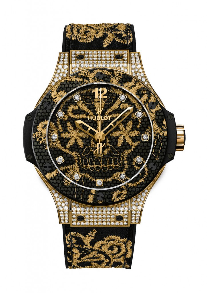 Hublot: Big Bang Broderie