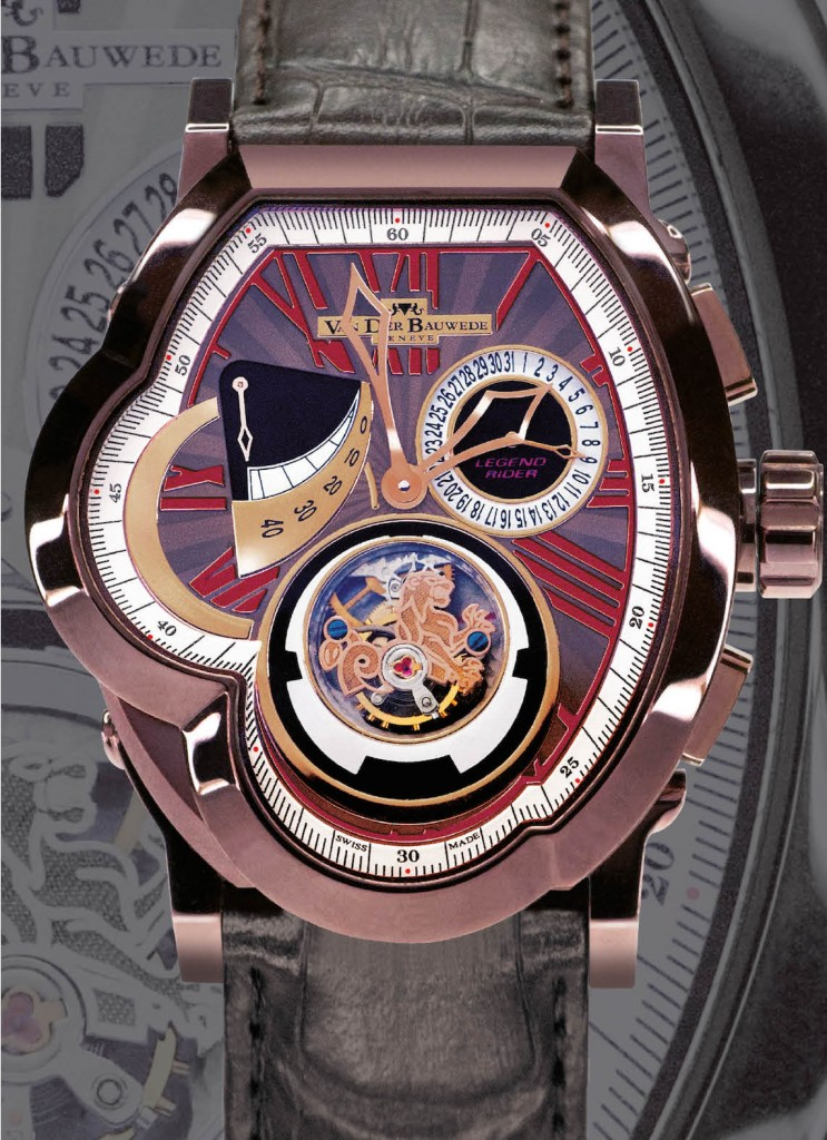 Van der Bauwede: VDB Legend T. Crown Tourbillon