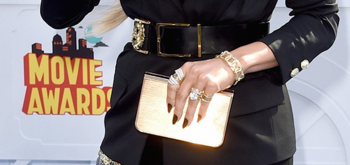 J.Lo with Chimento jewellery at MTV Movie Awards 2015