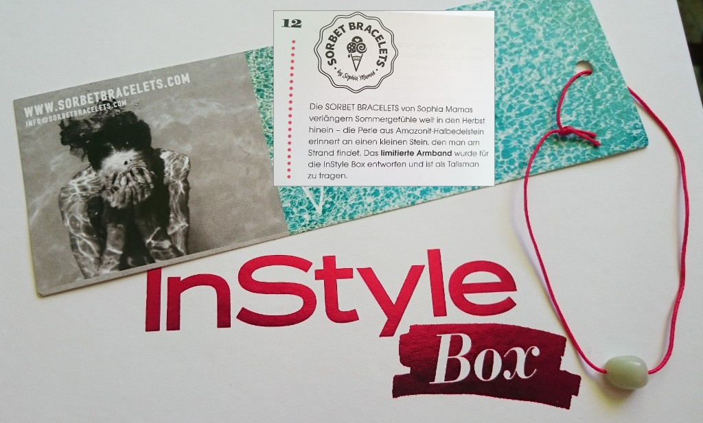 Sorbet Bracelets - InStyle Box September 2015