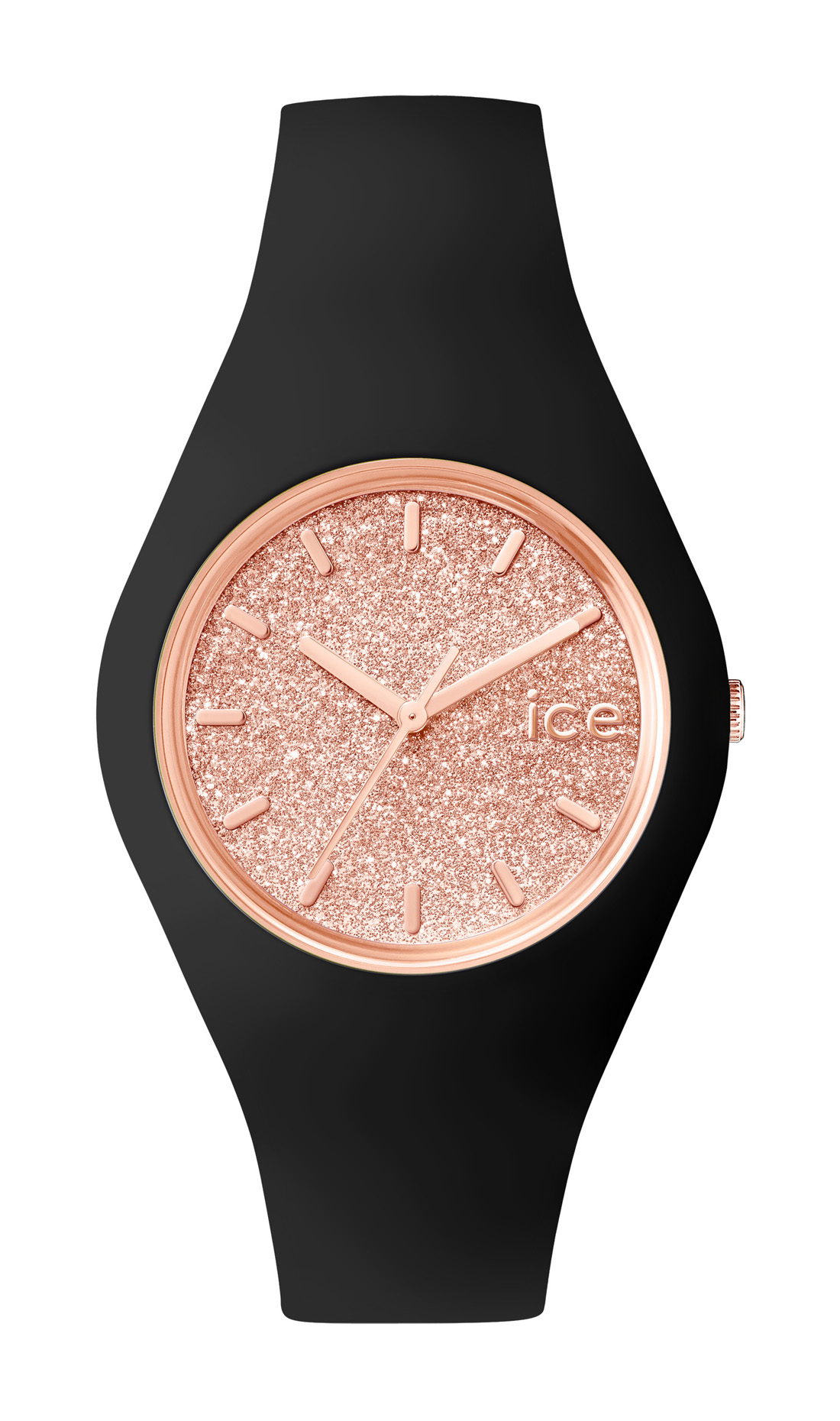Ice-Watch_ICE Glitter_Black-Rose Gold_99Euro